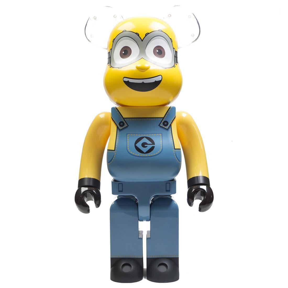 Medicom Despicable Me 3 Minion Dave 1000% Bearbrick Figure (yellow)
