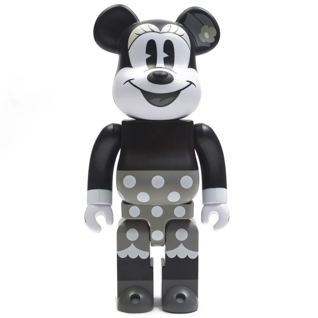 Medicom Disney Minnie Mouse Black And White Ver 400% Bearbrick Figure (black / white)
