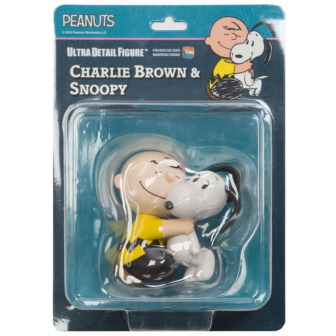 Medicom UDF Peanuts Series 8 Charlie Brown And Snoopy Ultra Detail Figures (tan)