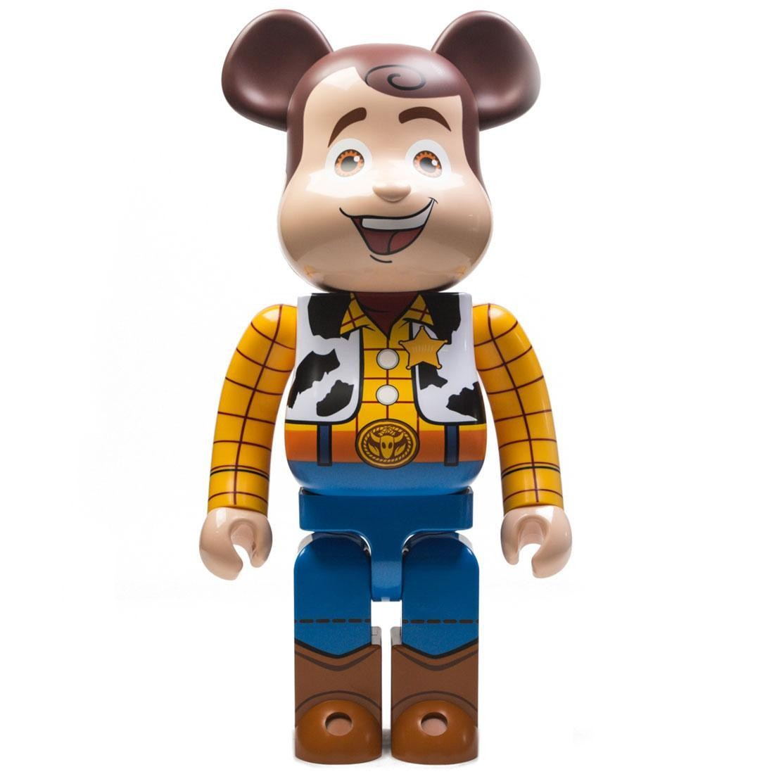 Medicom Toy Story Woody 1000% Bearbrick Figure (brown)