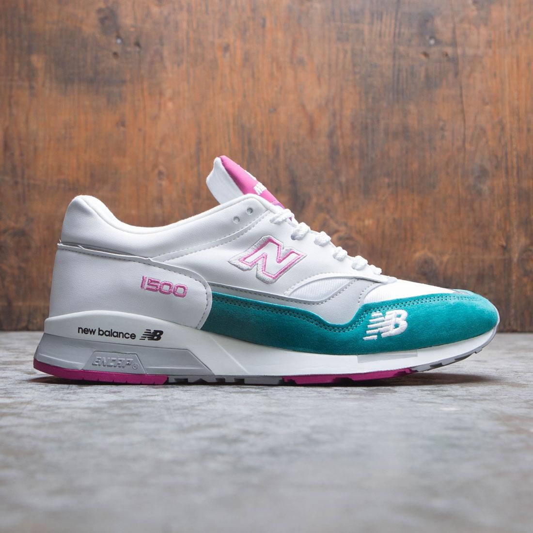 New Balance Men M1500 M1500WTP - Made In UK (white / pink)