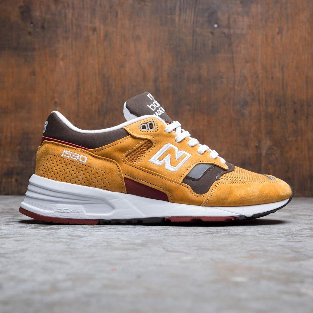 New Balance Men 1530 M1530SE - Made In UK (gold / inca gold / brown)