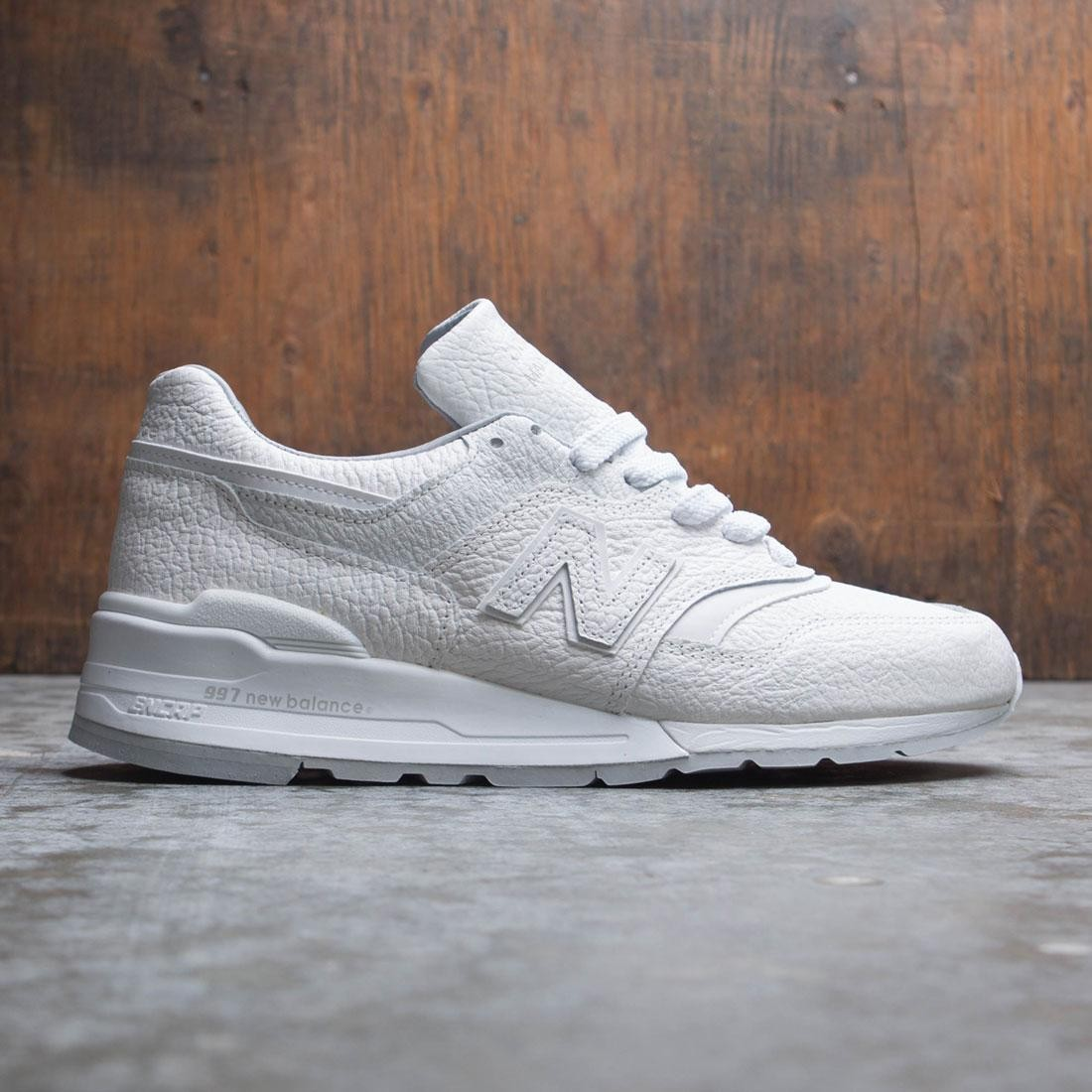 best service e1ad1 61f6f New Balance Men 997 M997BSN - Made In USA (white / grey)