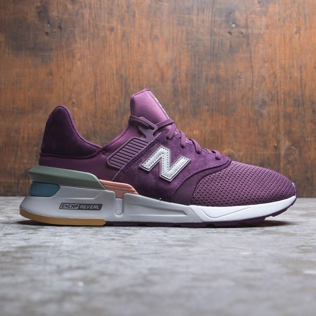 New Balance Men 997 Components MS997XTB (burgundy / dark current / white peach)