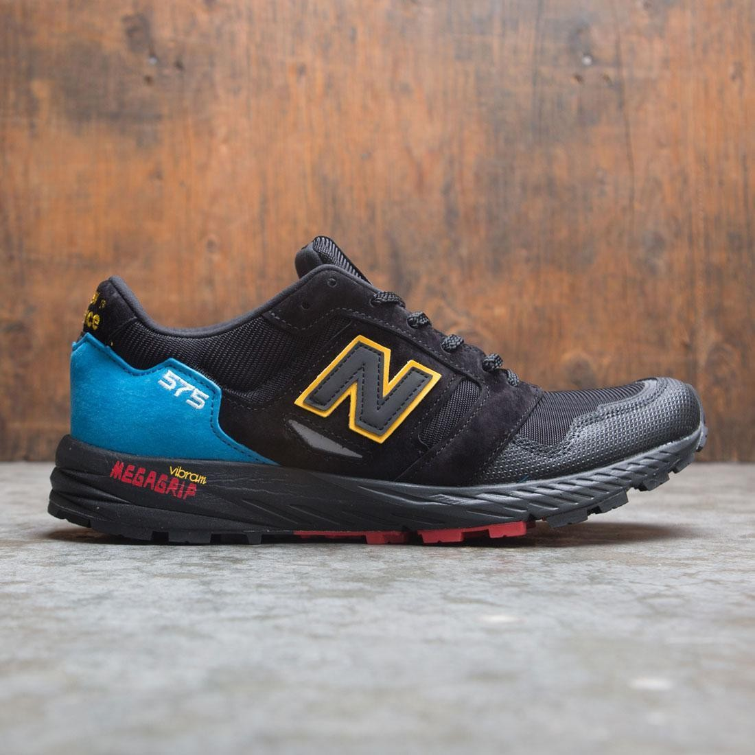 mode designer c15f5 3933e New Balance Men 575 MTL575UT - Made In UK (black / bright blue)
