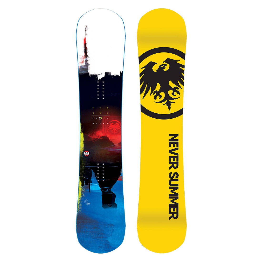 Never Summer 2021 Proto Ultra Snowboard (multi)