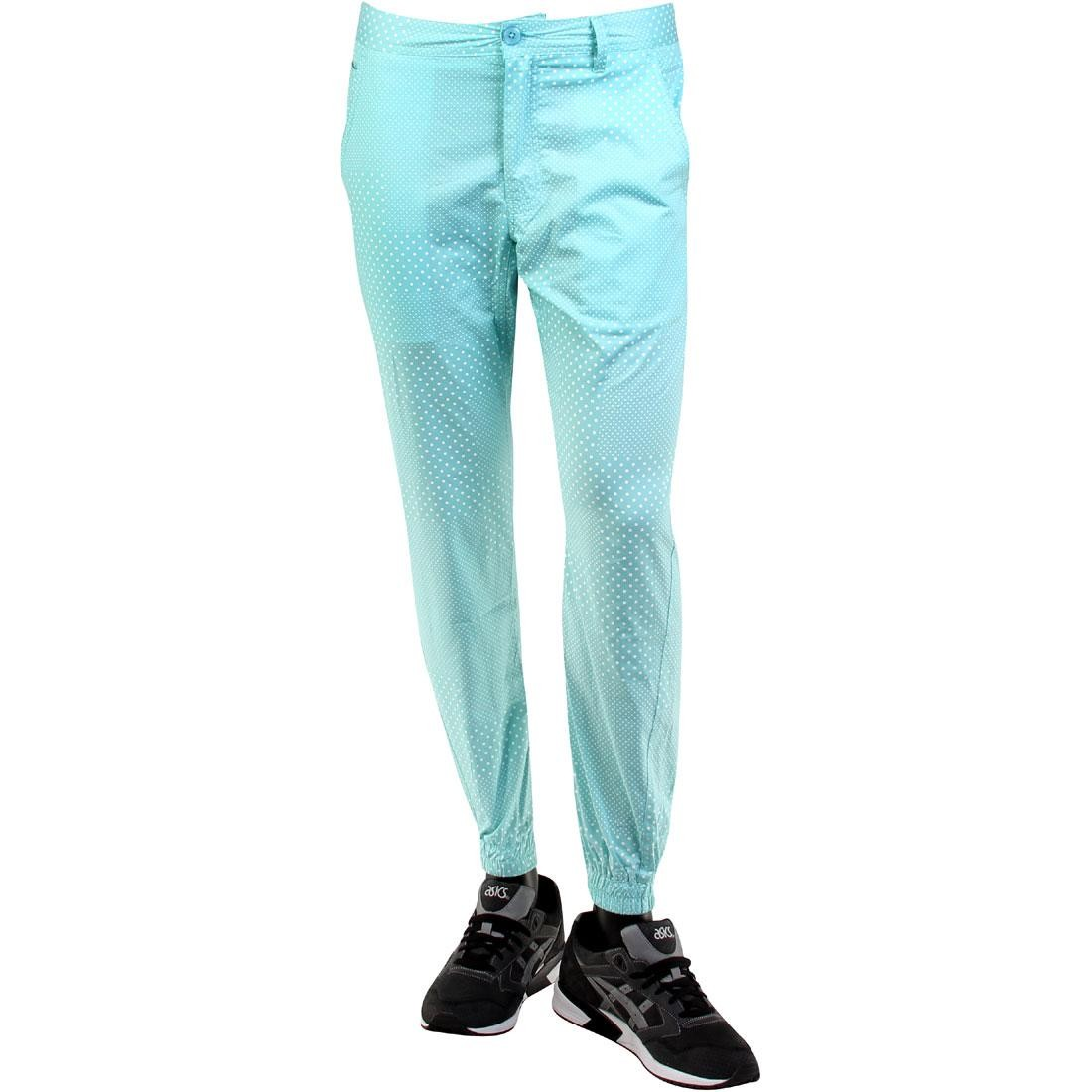 Publish Julian Polka Dot Poplin Jogger Pants (teal / mint)