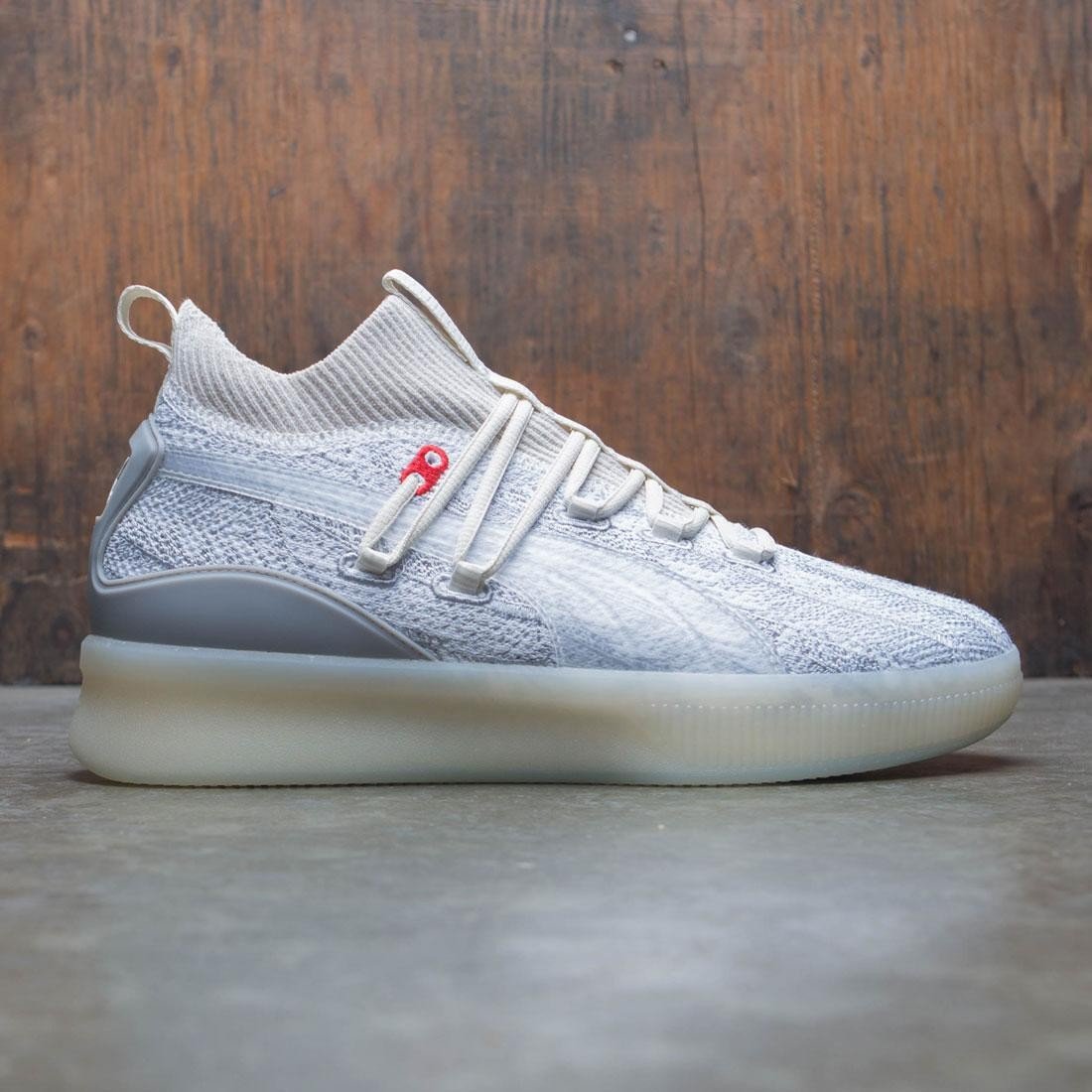 Puma Men Clyde Court POE (gray / vaporous)