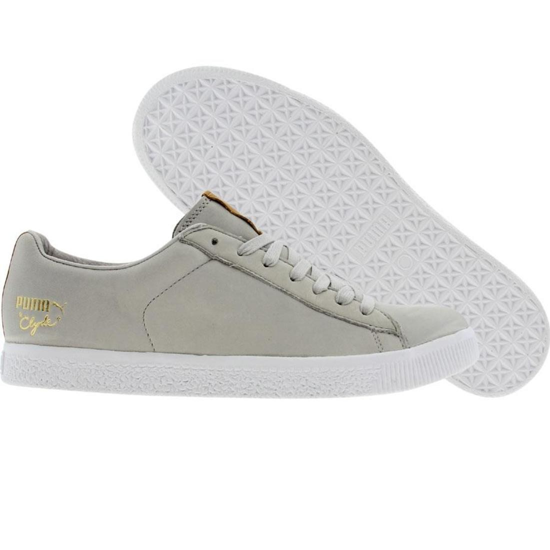 new style bcf52 6a17a Puma Clyde x UNDFTD Luxe - Stripe Off (grey violet / natural)