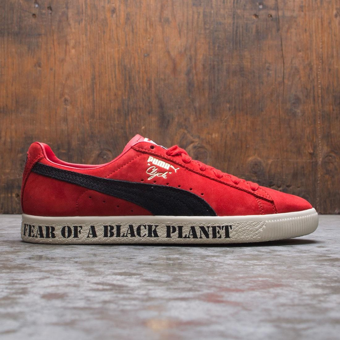 Puma x Public Enemy Men Clyde (red / high risk red / black)