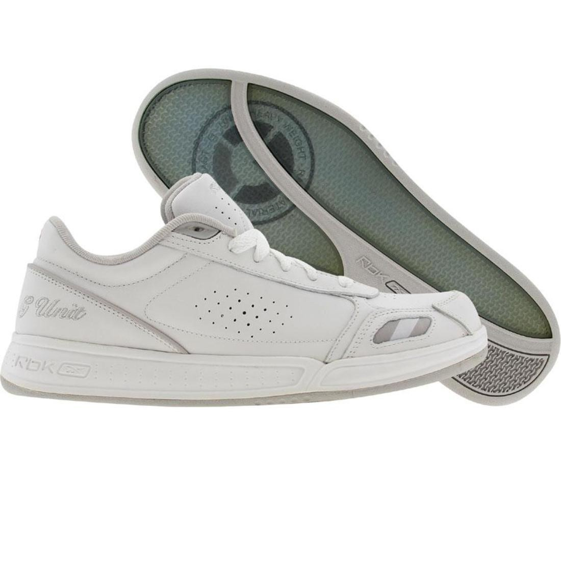 Reebok Big Kids G6 III (white / white / sh grey)