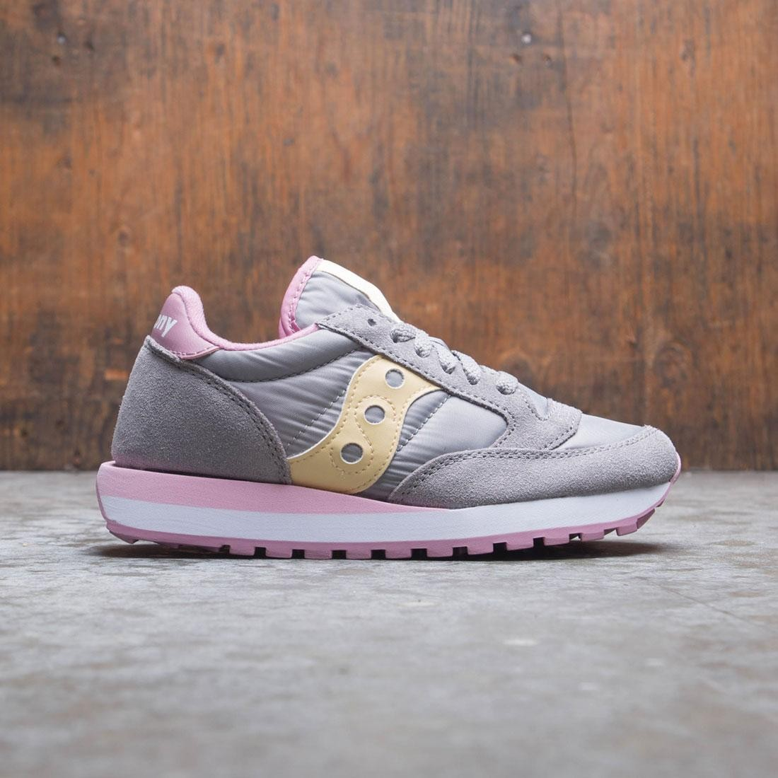 Saucony Women Jazz Original (gray / orchid / wheat)