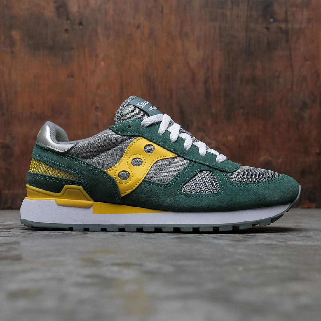 Saucony Men Shadow Original (green / mallard / cyber)