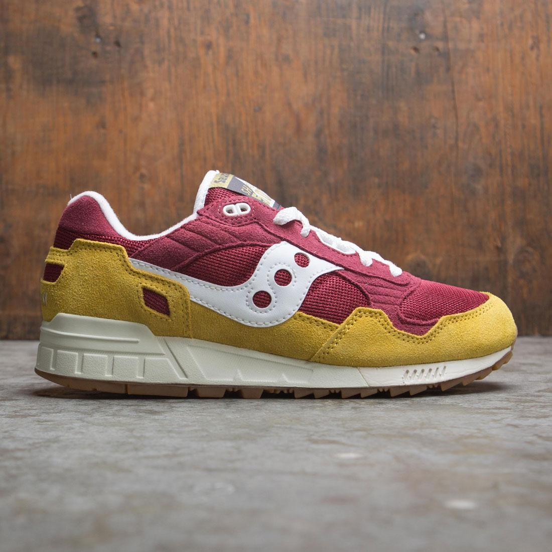 Saucony Men Shadow 5000 (yellow / maroon / white)
