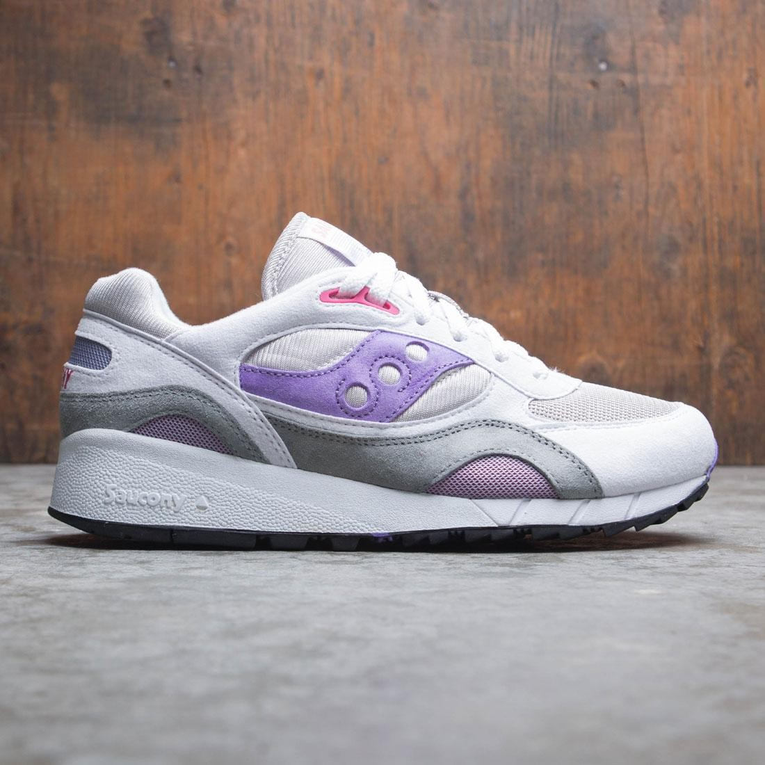Saucony Men Shadow 6000 (white / gray / purple)