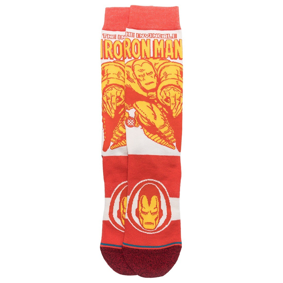 Stance x Marvel Iron Man Men Iron Man Marquee Socks (red)
