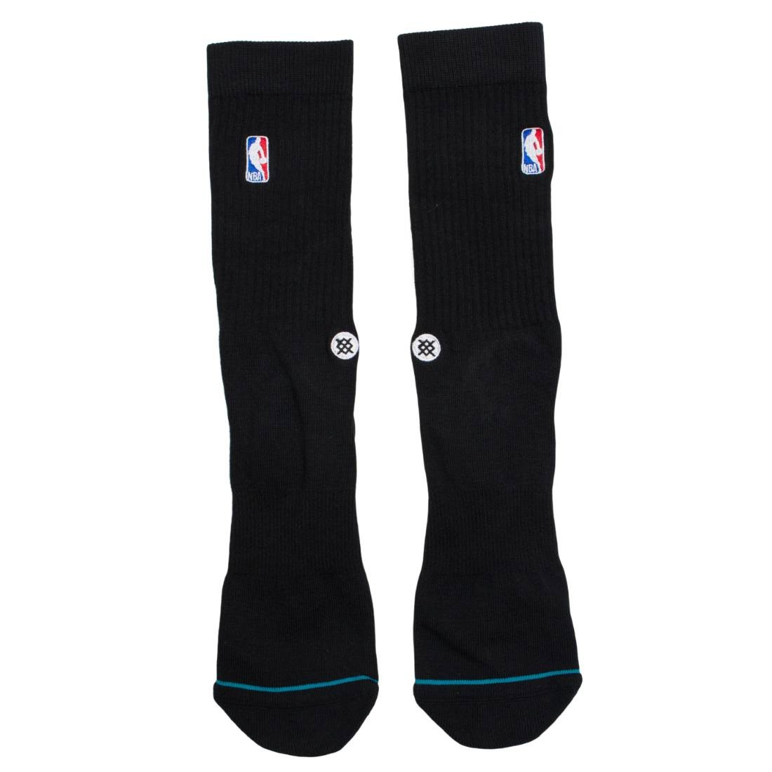 Stance x NBA Men NBA Logoman Crew Socks (black)