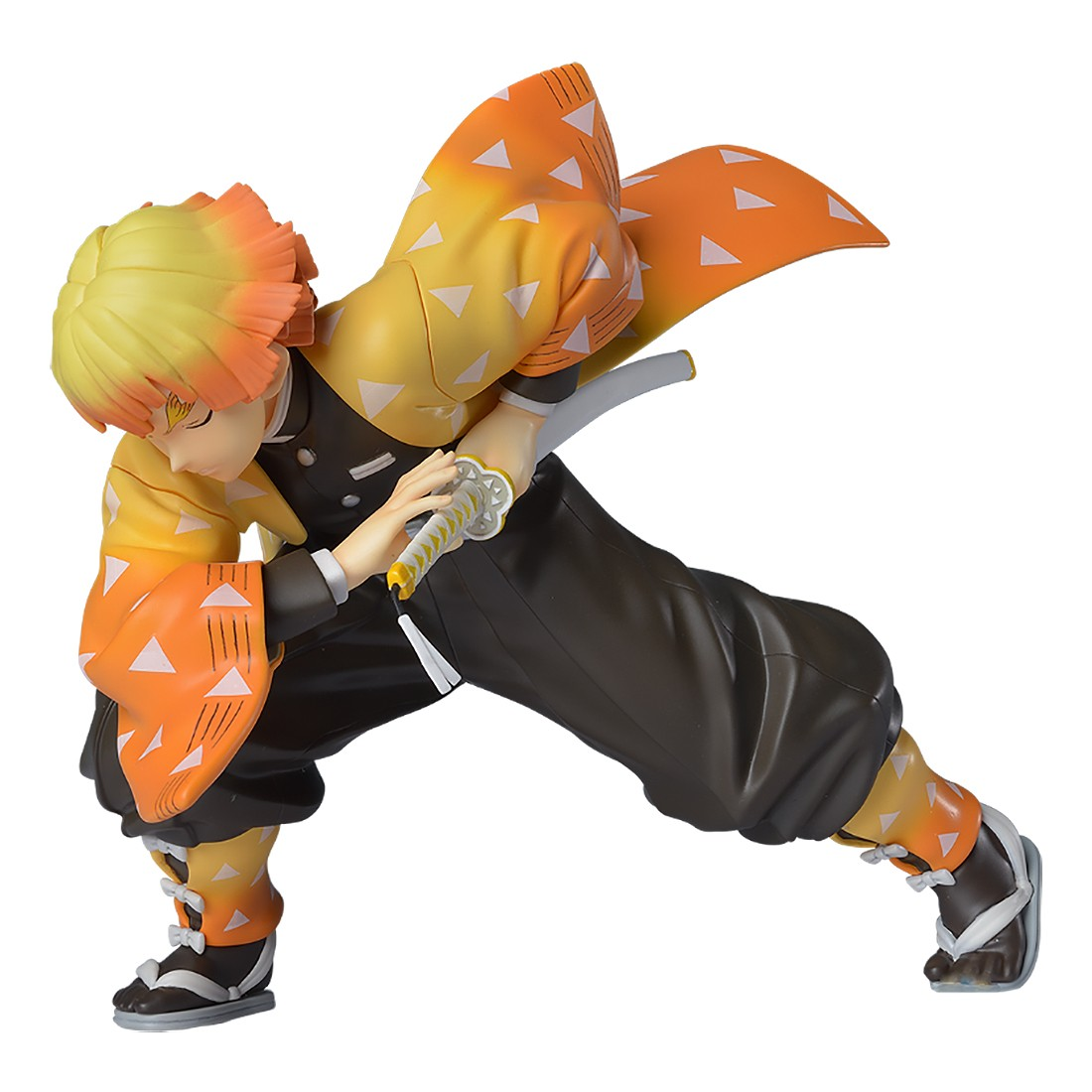 PREORDER - Sega Demon Slayer Kimetsu no Yaiba Agatsuma Zenitsu SPM Figure (orange)