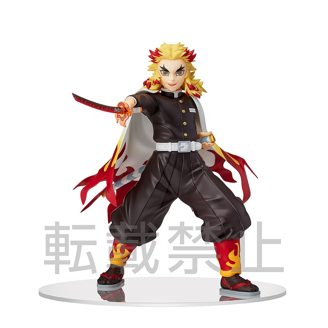 PREORDER - Sega Demon Slayer Kimetsu no Yaiba Kyojuro Rengoku SPM Figure (black)