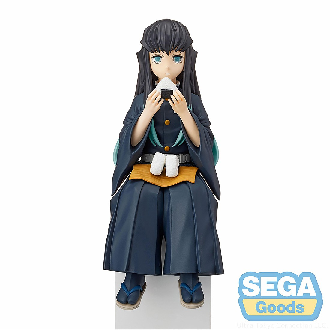 PREORDER - Sega Demon Slayer Kimetsu no Yaiba Muichiro Tokito PM Perching Figure (navy)
