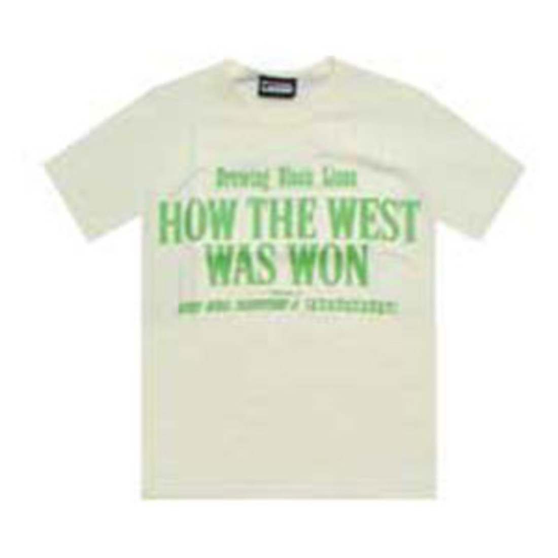 The Hundreds West Tee (cream)