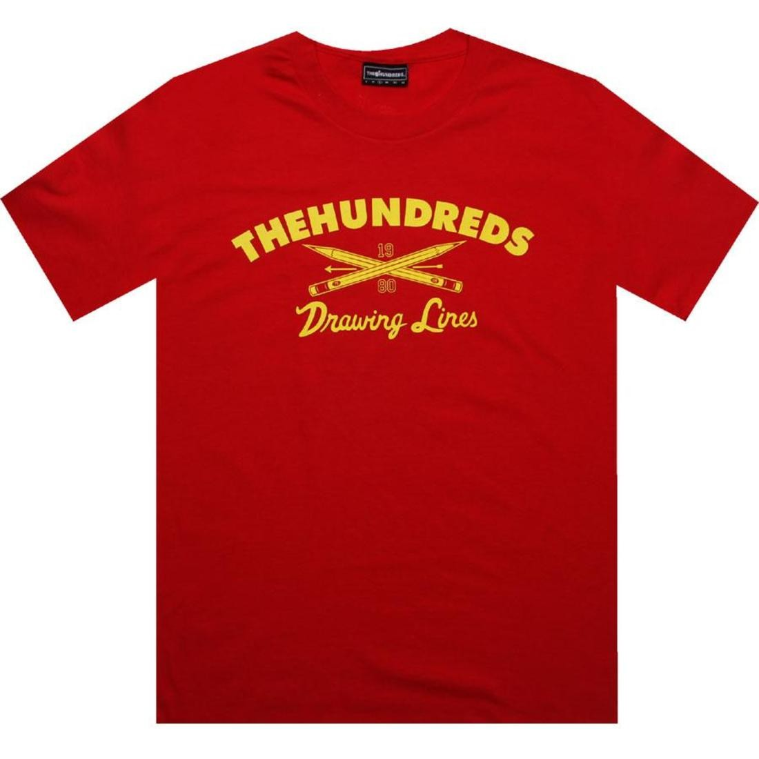 The Hundreds Trooper Tee red