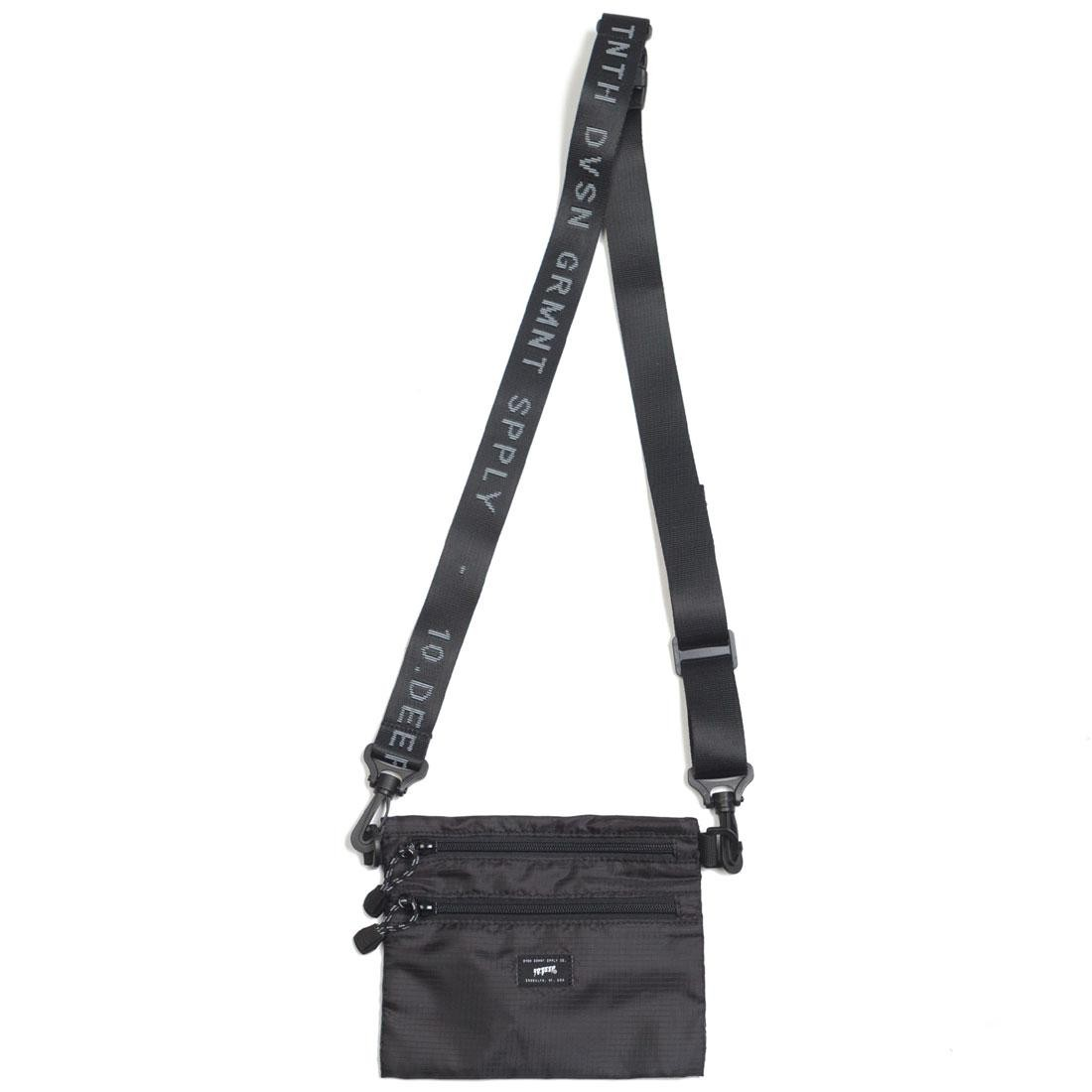 10 Deep Division Side Bag (black)