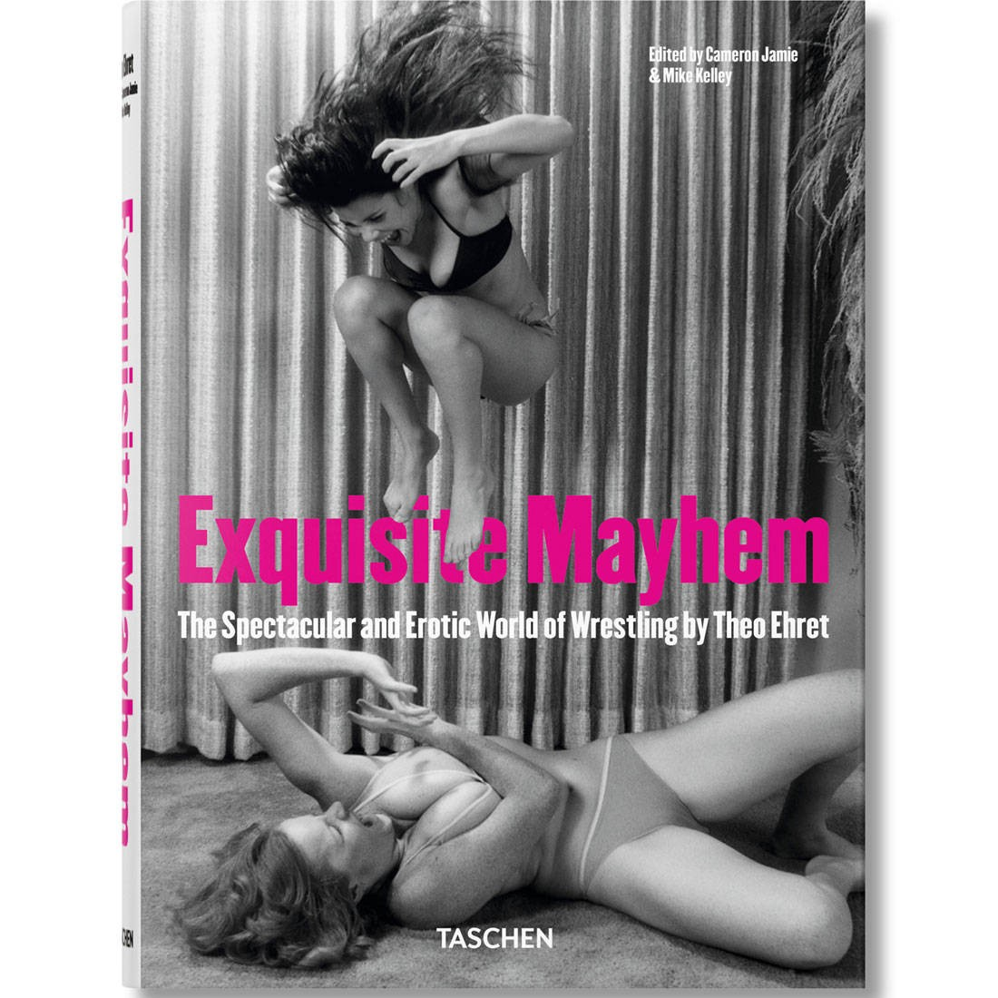 Exquisite Mayhem The Spectacular and Erotic World of Wrestling Hardcover Book (gray)