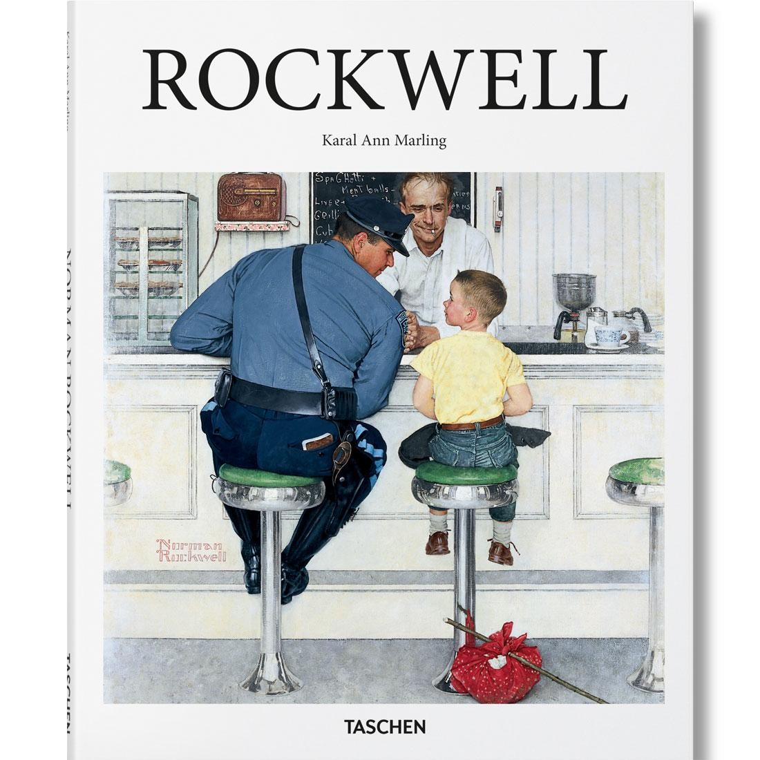 Rockwell By Karal Marling Book (white)