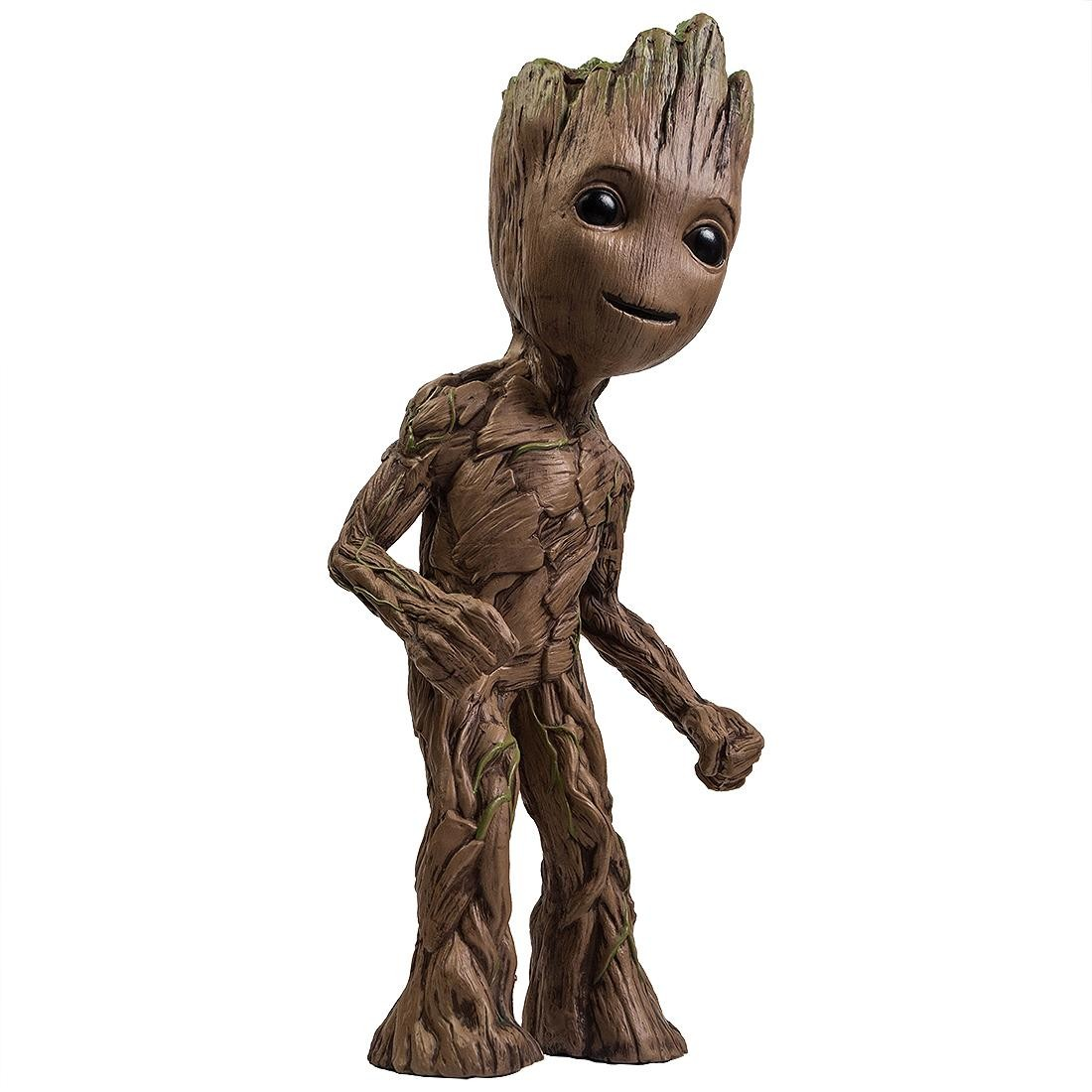 NECA Marvel Guardians of the Galaxy Vol. 2 Groot 30 Inch Foam Figure (brown)