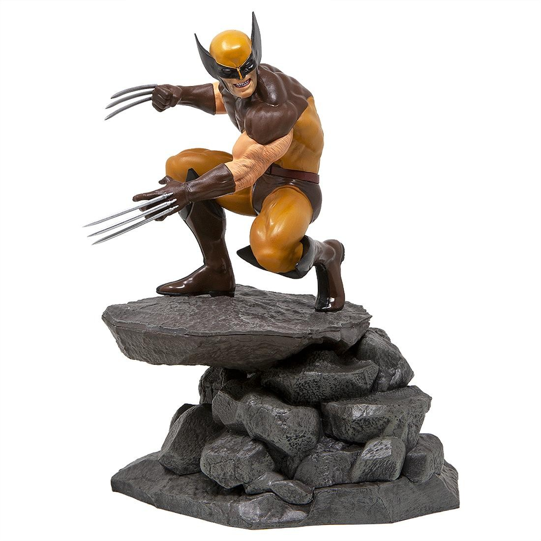 Diamond Select Toys Marvel Gallery X-Men Wolverine Comic PVC Statue (yellow)