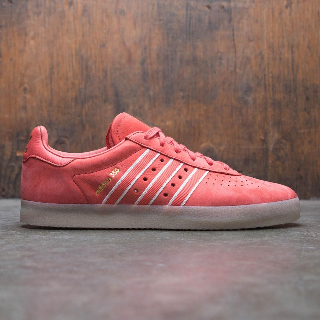 uk availability b4227 eb79a Adidas Men Oyster Holdings Adidas 350 red trace scarlet chalk white  metallic gold