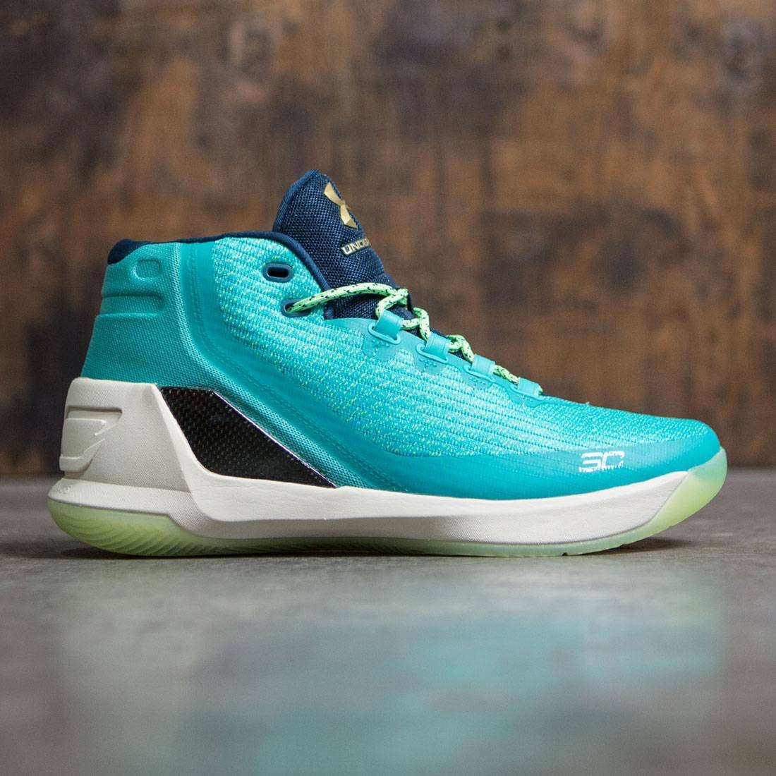 new style b8e70 9e8b9 Under Armour Men Curry 3 - Reign Water (blue / baby blue)