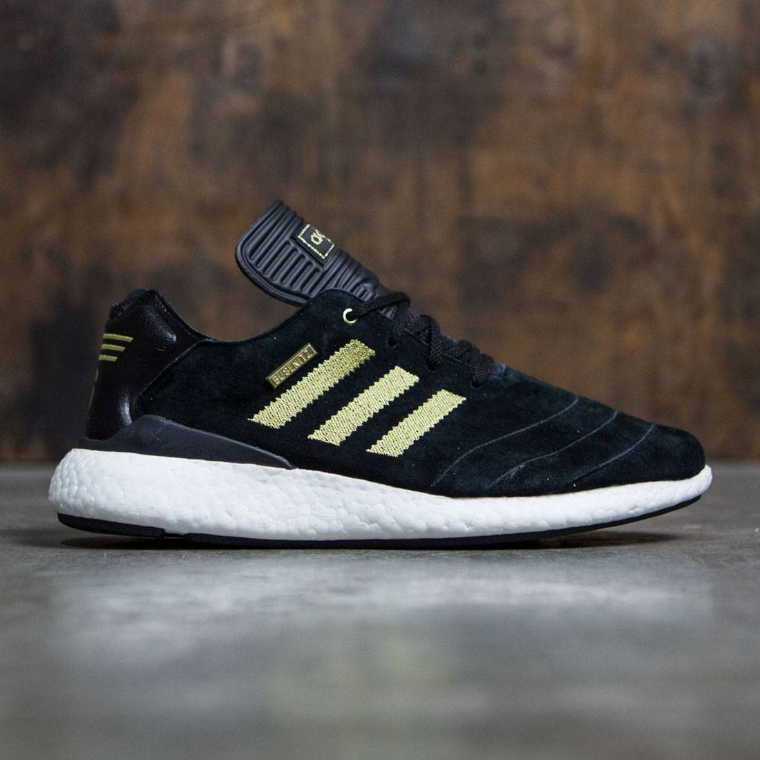 new product 6e4fa 10225 ... promo code for adidas men busenitz pure boost 10 year anniversary black  gold metallic footwear white