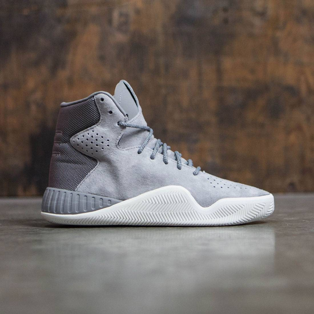 Adidas Big Kids Tubular Instinct gray charcoal