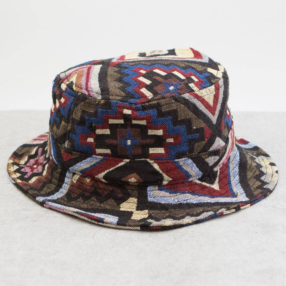 CLOT Triangle Eye Bucket Hat (brown / green)