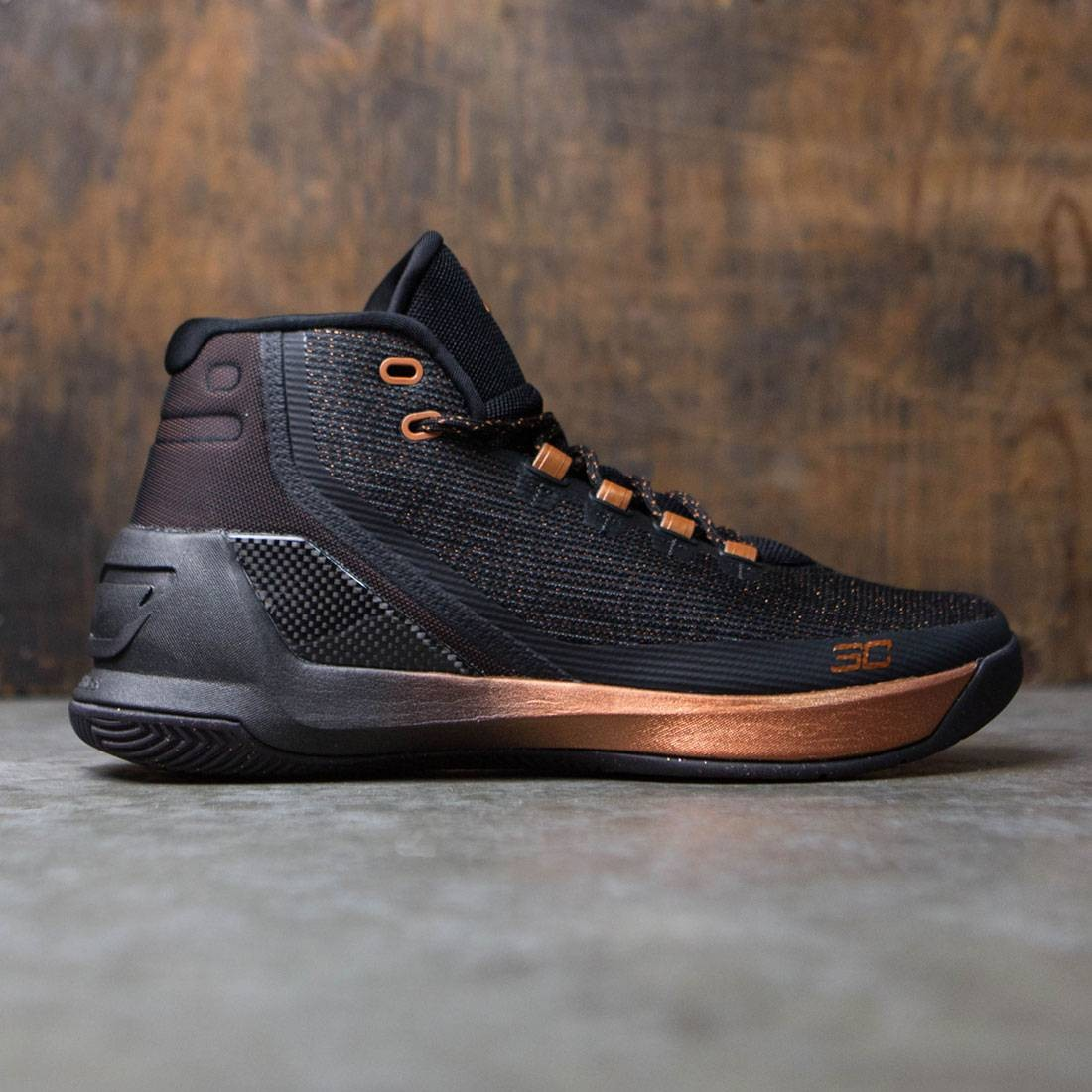 best service 87949 b13cf Under Armour Men Curry 3 - All Star (black / silver / copper)