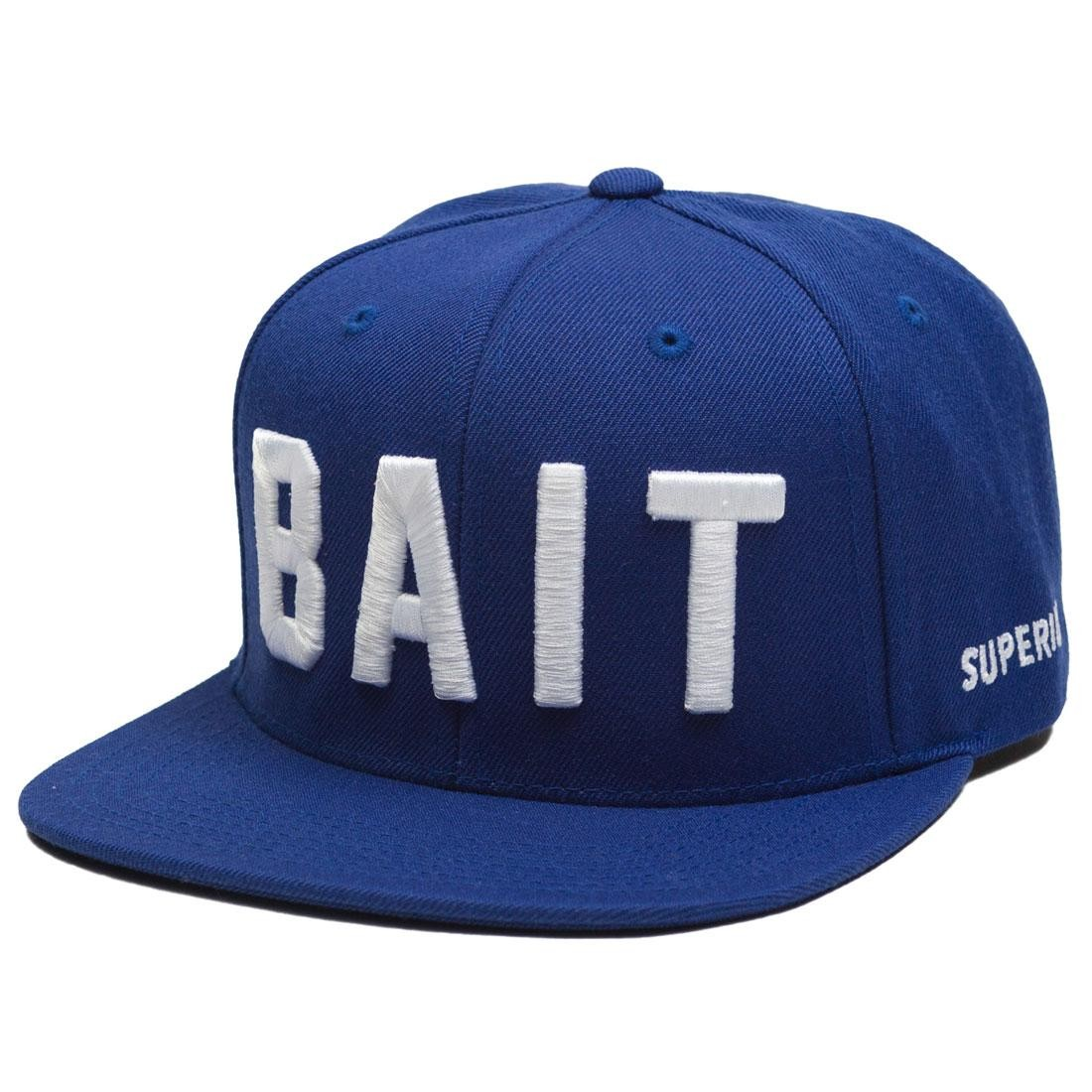 BAIT Logo Snapback Cap (blue / royal)