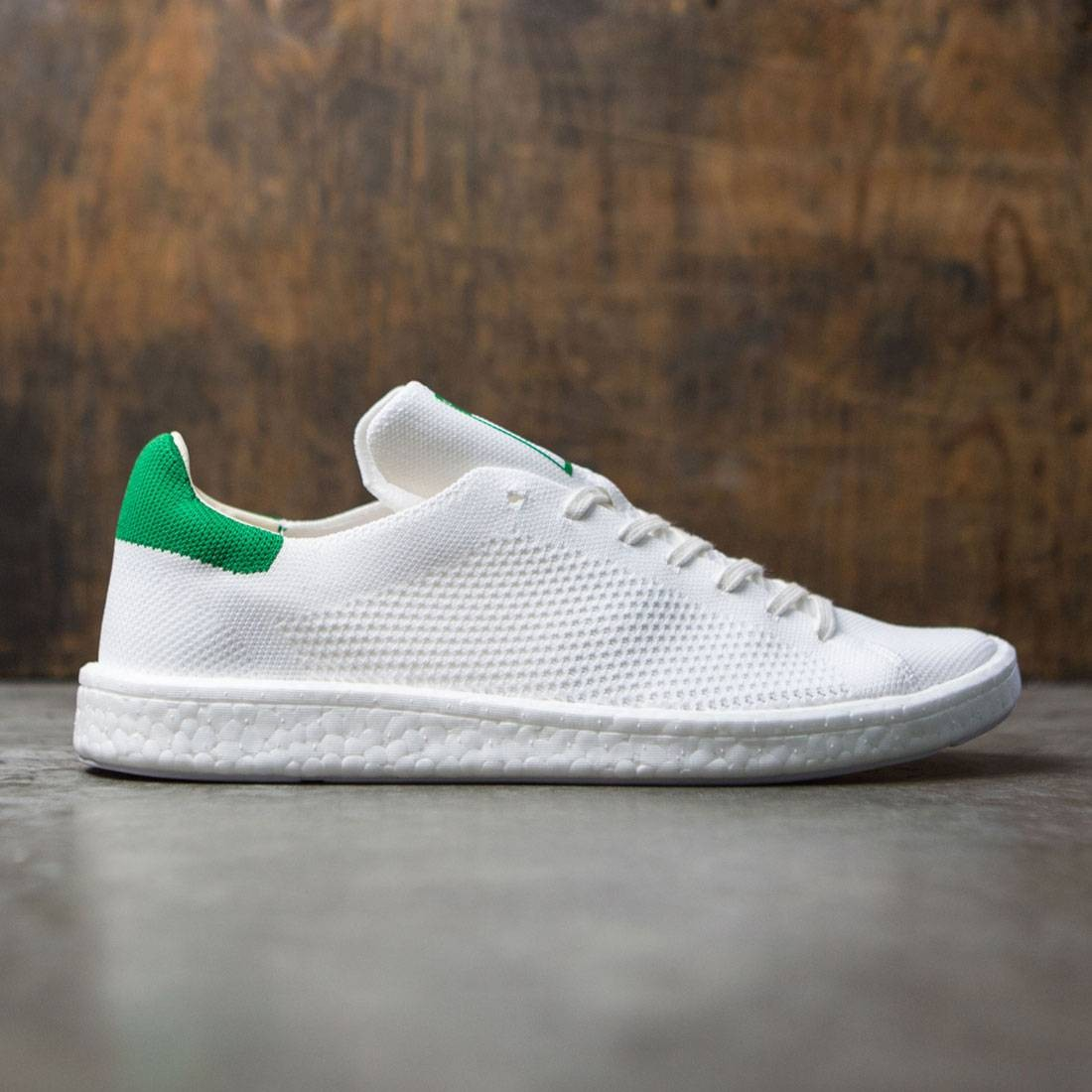 quality design ecdc8 16b85 Adidas Men Stan Smith Boost Primeknit white footwear white g
