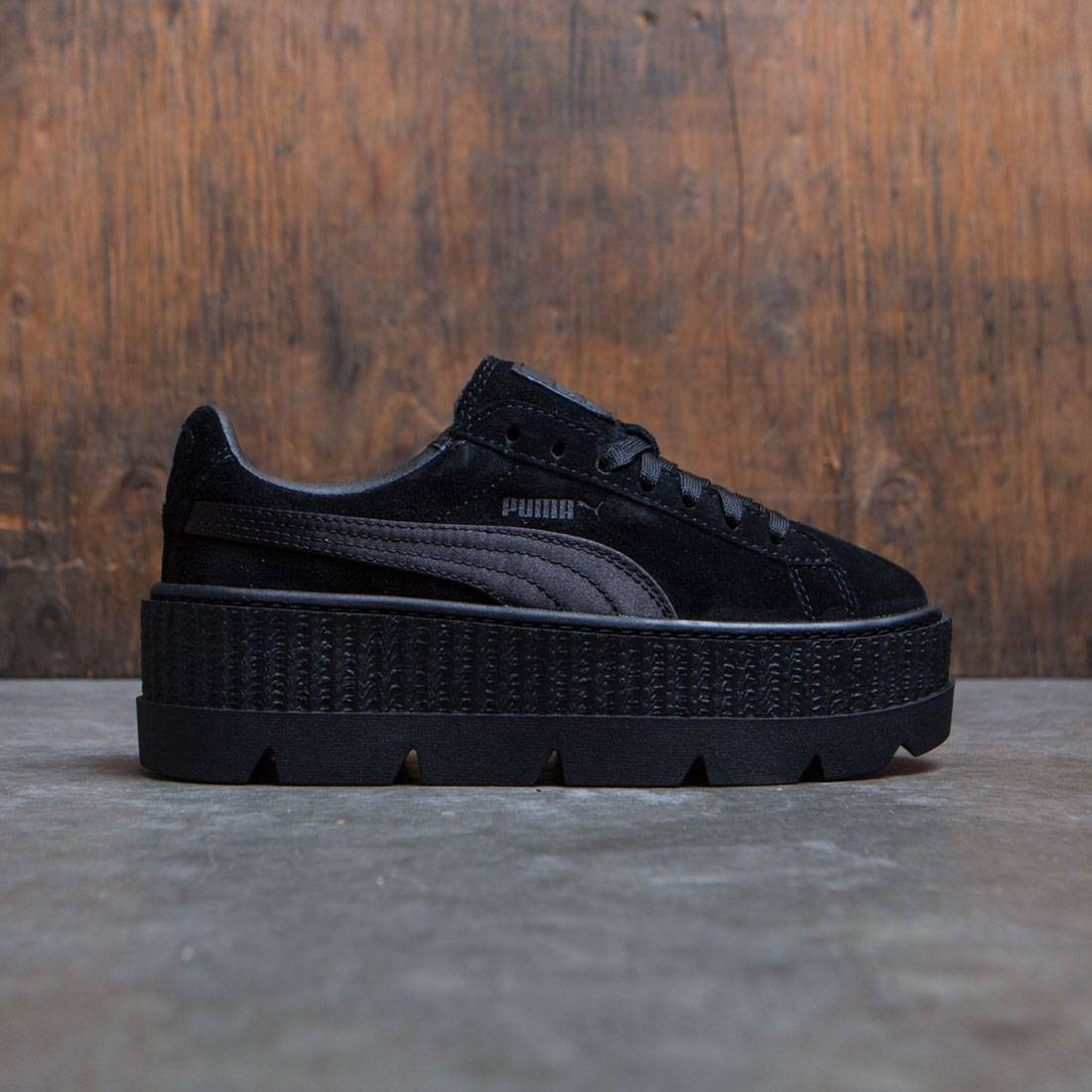 best service c3641 c55fa Puma x Fenty By Rihanna Women Cleated Creeper Suede (black / puma black)