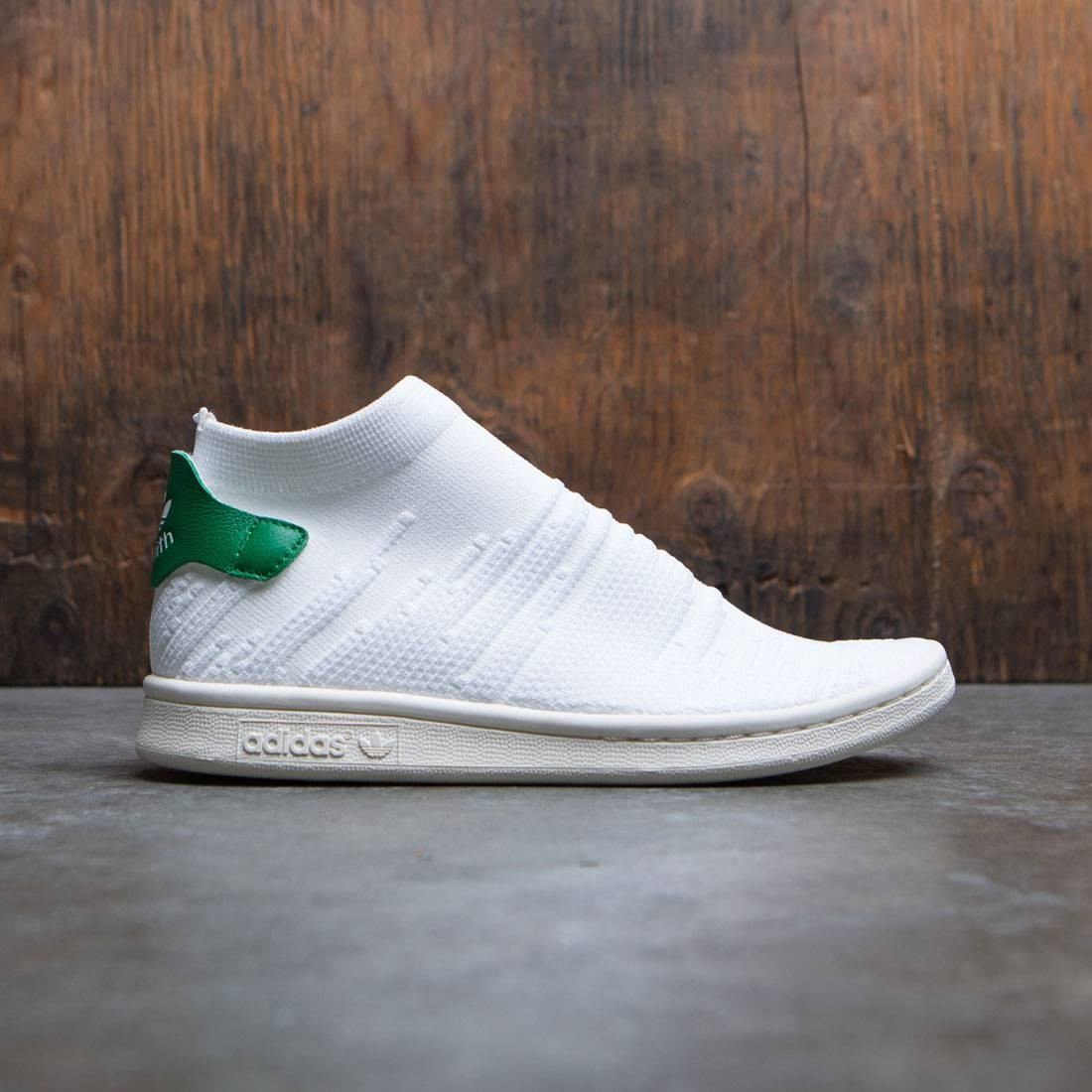 preámbulo facil de manejar Cualquier  Adidas Women Stan Smith Sock Primeknit W white footwear white green