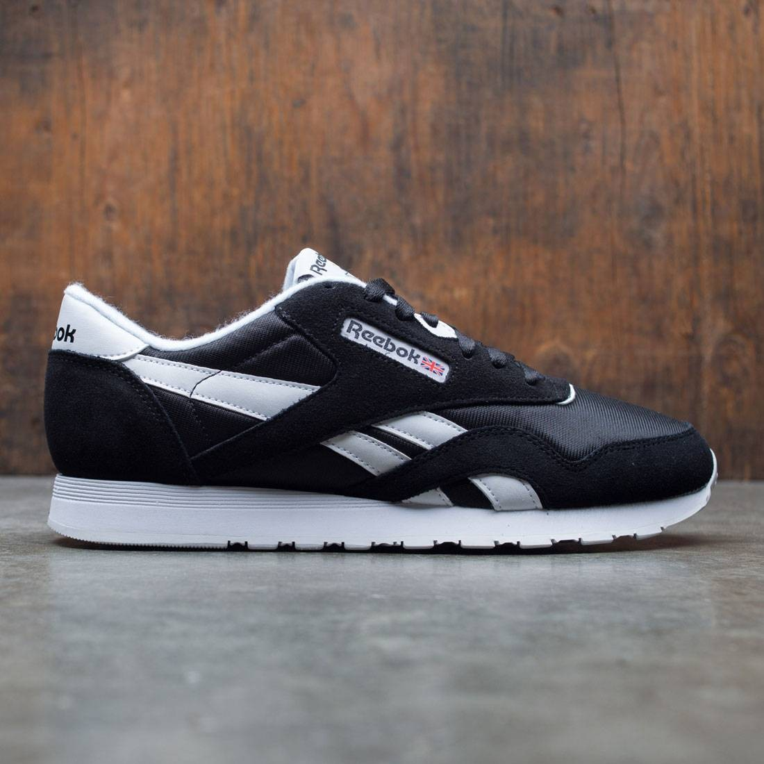 Reebok Men Classic Nylon (black / white)