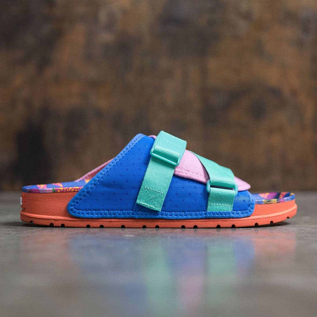 People Footwear x Poler Men Lennon Chiller (pink / blue / junk food)