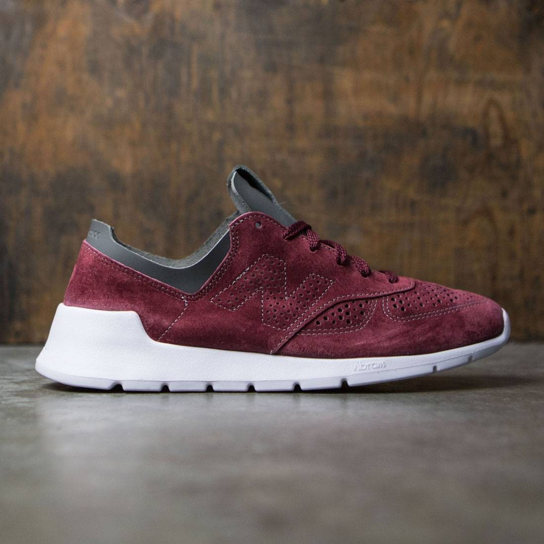 new balance burgandy