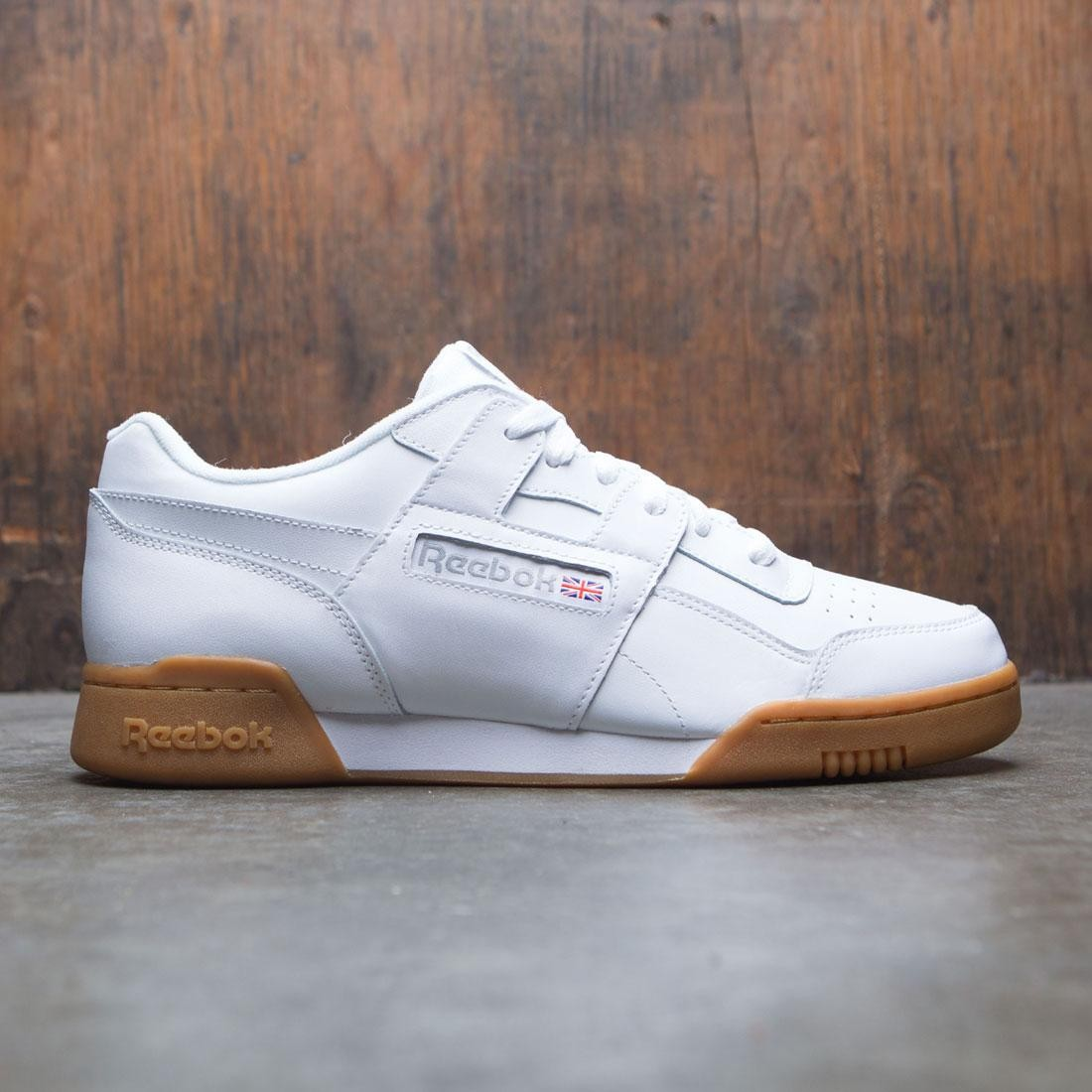 Reebok Men Workout Plus (white / carbon / classic red / reebok royal / gum)