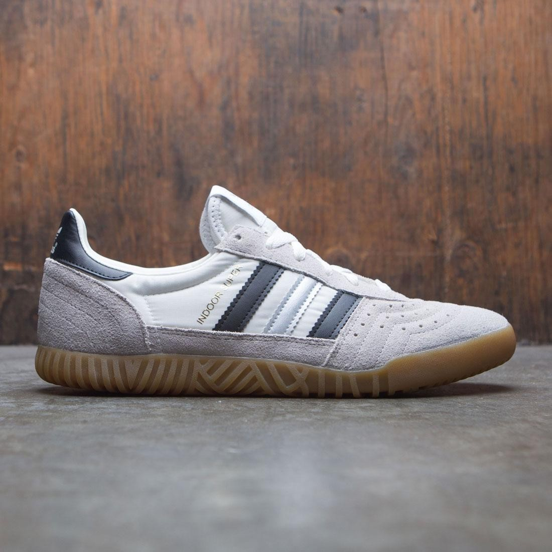 Adidas Men Indoor Super (white / vintage white / core black / matte silver)
