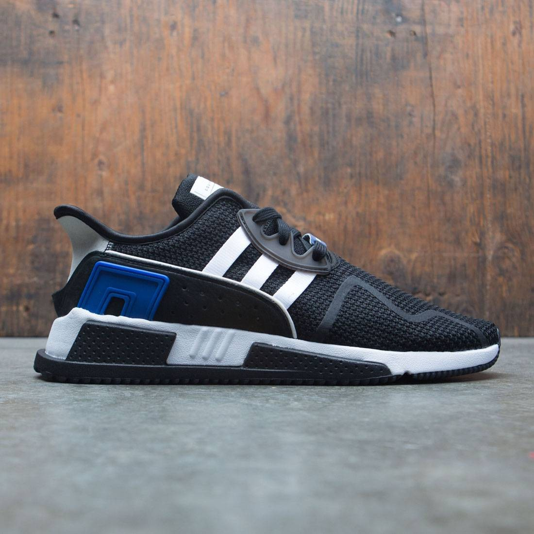 on sale 118d2 83f58 Adidas Men EQT Cushion ADV (black / footwear white / collegiate royal)