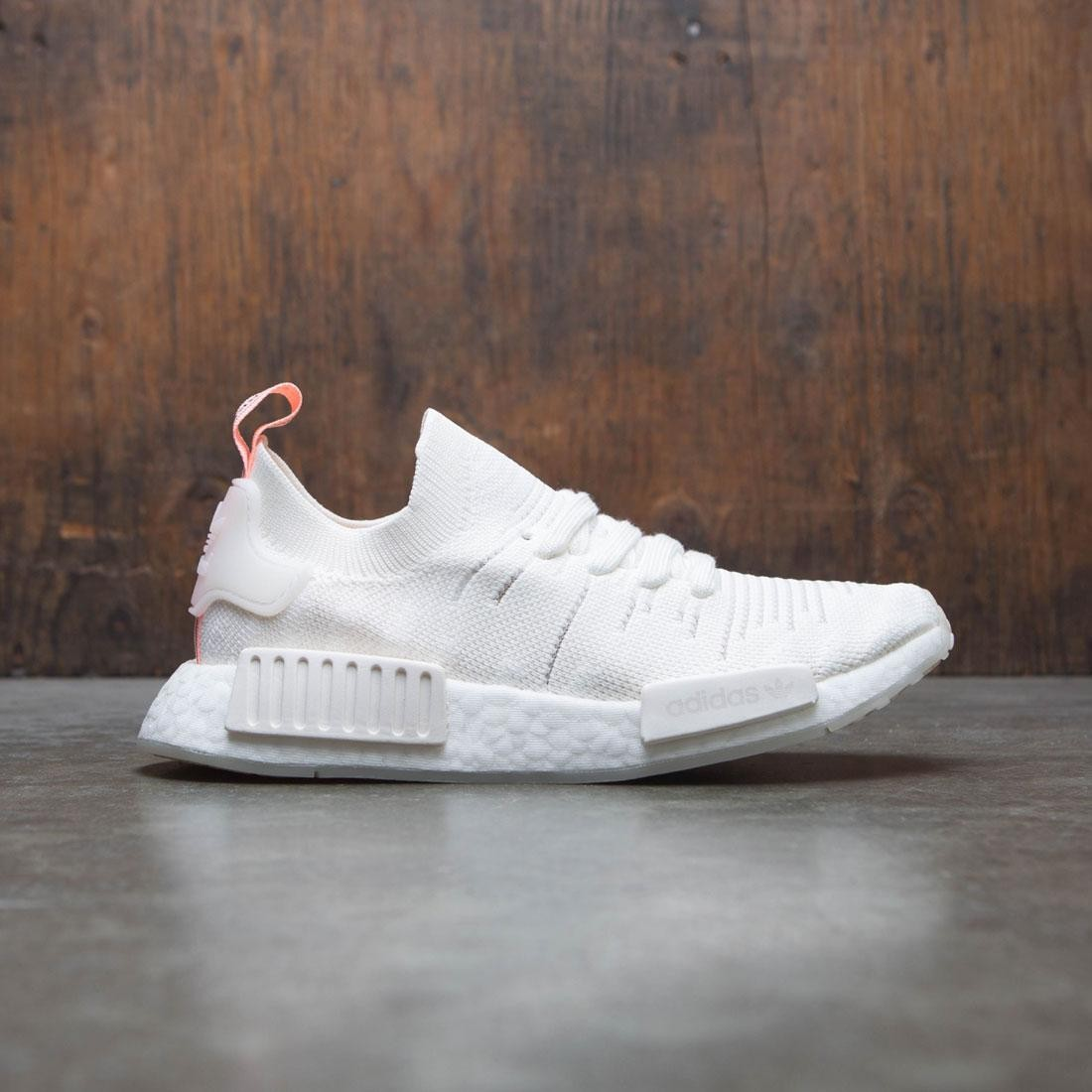 Adidas Women NMD R1 STLT PK W (white / cloud white / clear orange)
