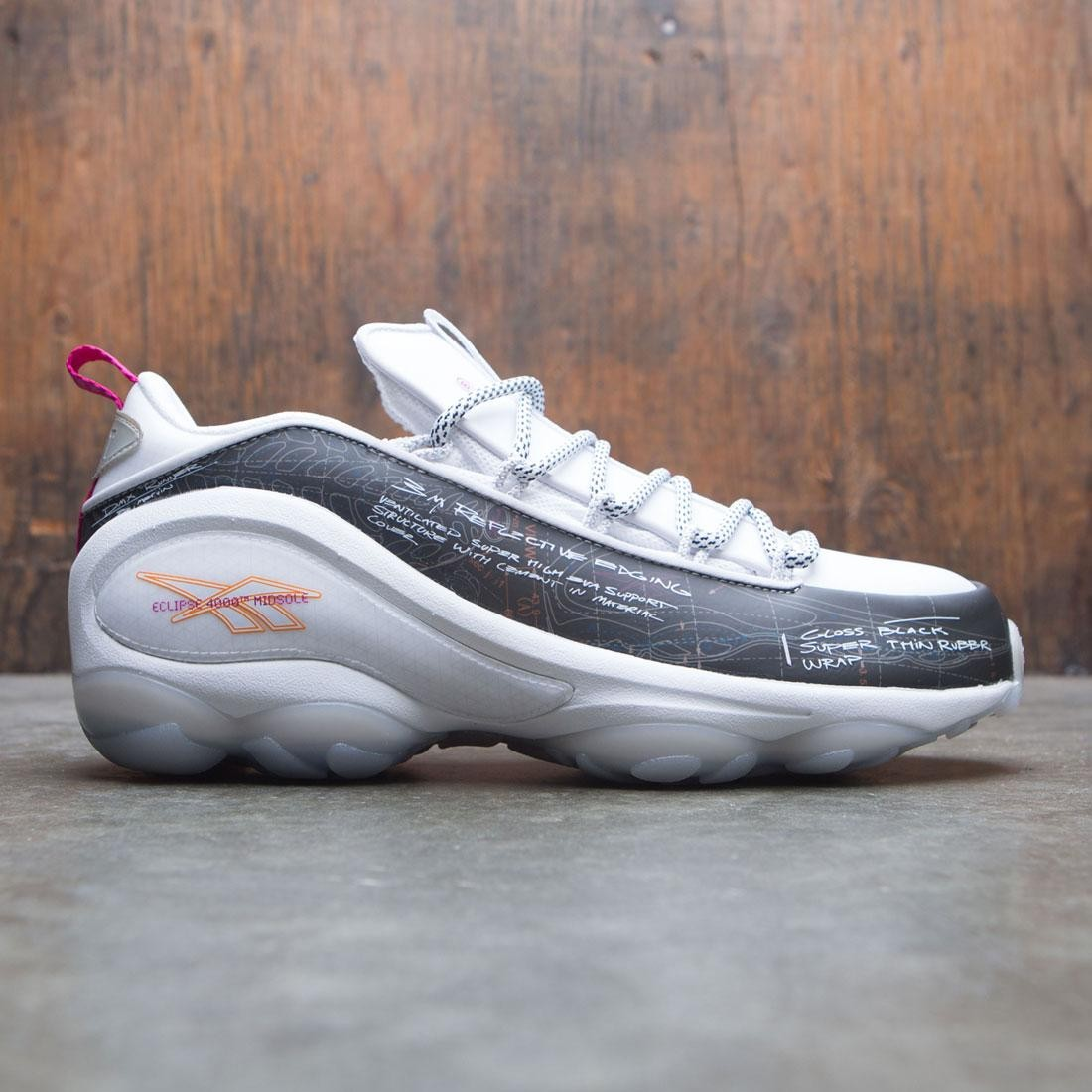 BAIT x Reebok Men DMX Run 10 (black / ash gray)