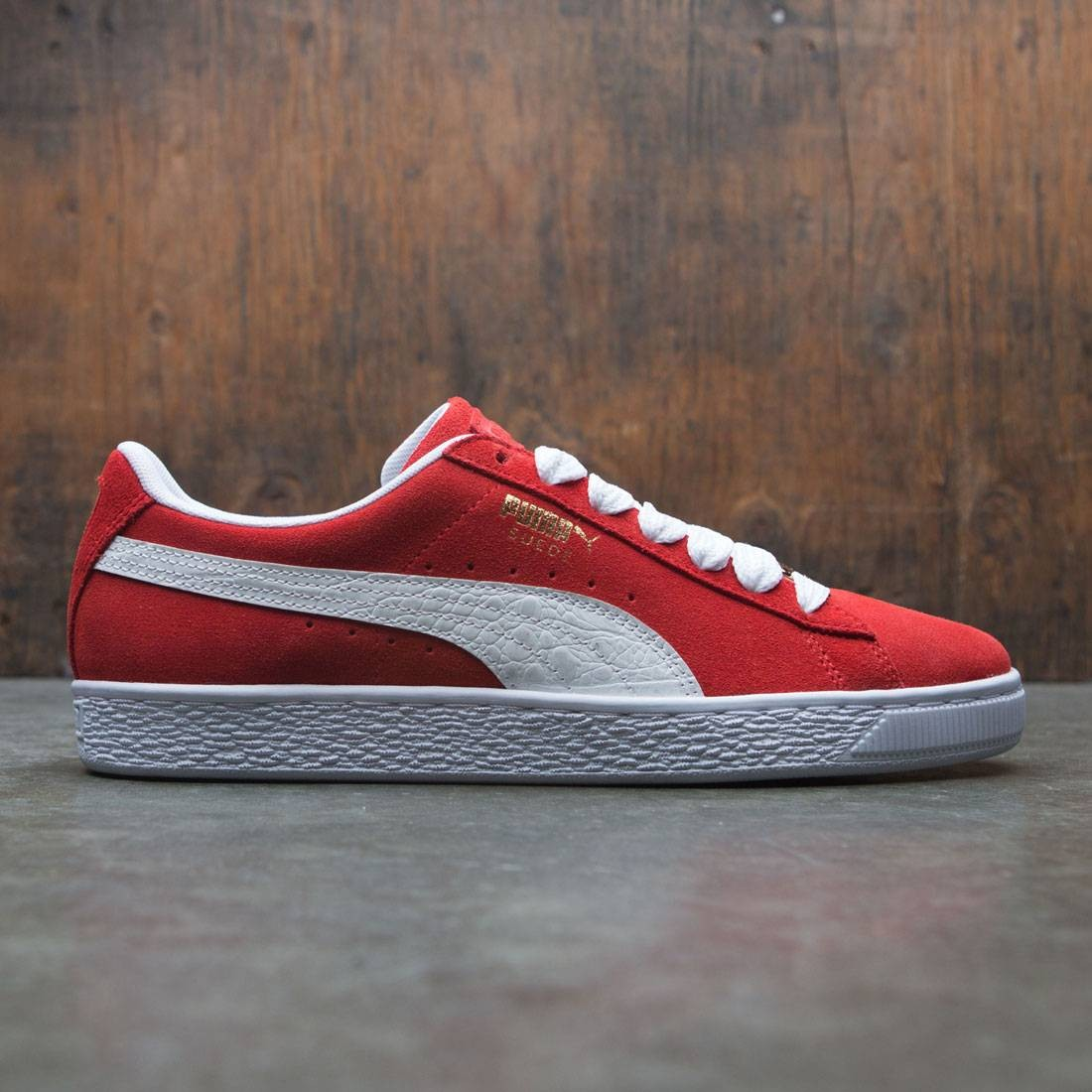 best website fd341 37933 Puma Men Suede Classic - BBOY Fabulous (red / white)